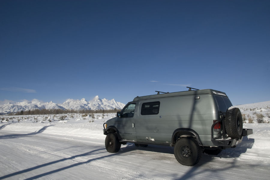 New Year's trip to the Tetons.