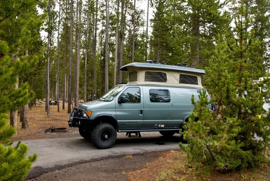 Madison Campground, Yellowstone