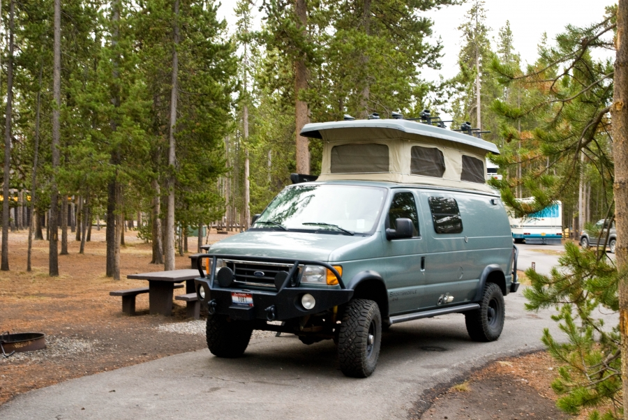 Madison Campground, Yellowstone