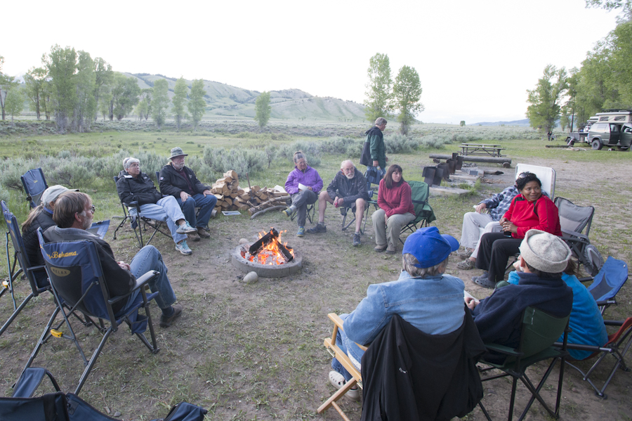 Teton Meet Up at Gros Ventre Campground