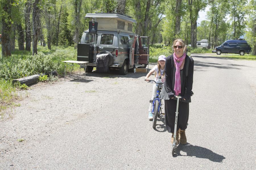 Teton Meet Up at Gros Ventre Campground
