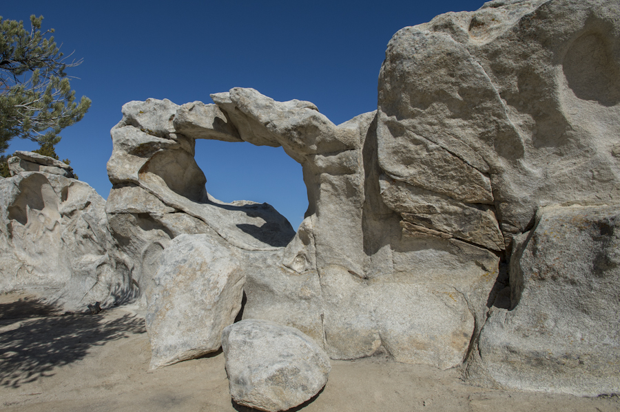 Window Arch, City of Rocks, Almo, ID