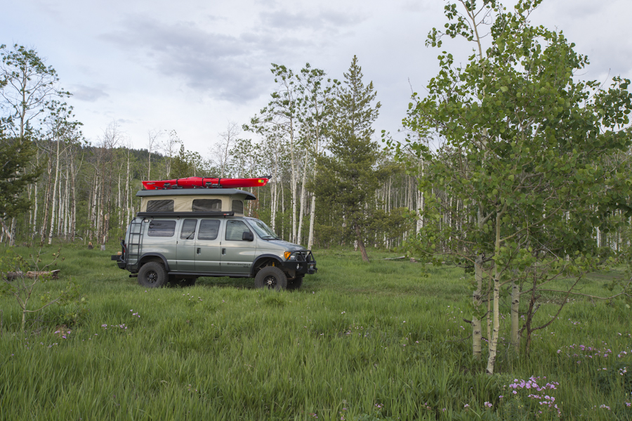 Shadow Mountain Camping, Tetons