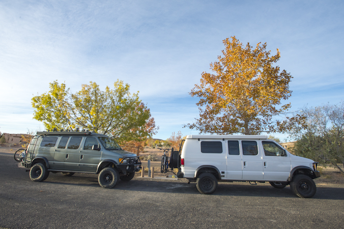 The YURT and the YETI camping at Wahwaep RV Park, Lake Powell