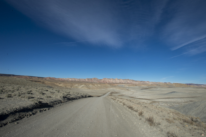 The north end of Cottonwood Road in Southern Utah