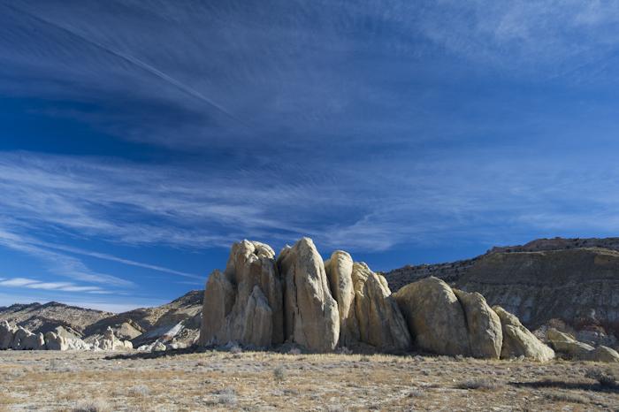 Rock formation on Cottonwood Road, Southern Utah.