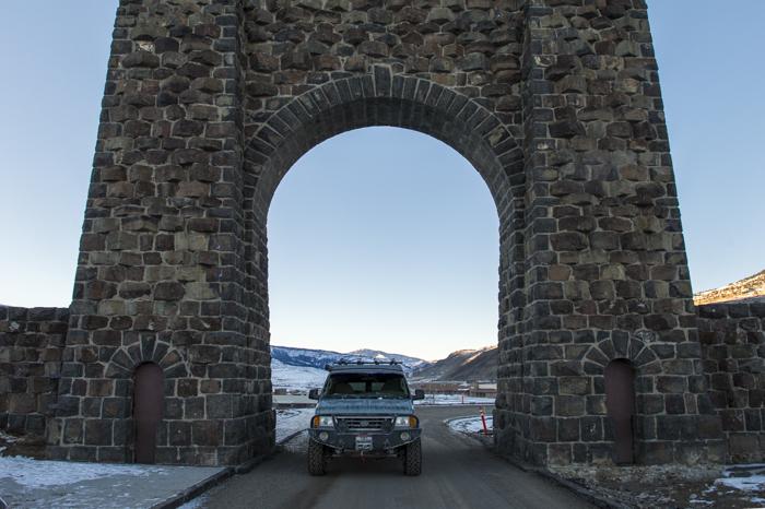 North Entrance Yellowstone National Park