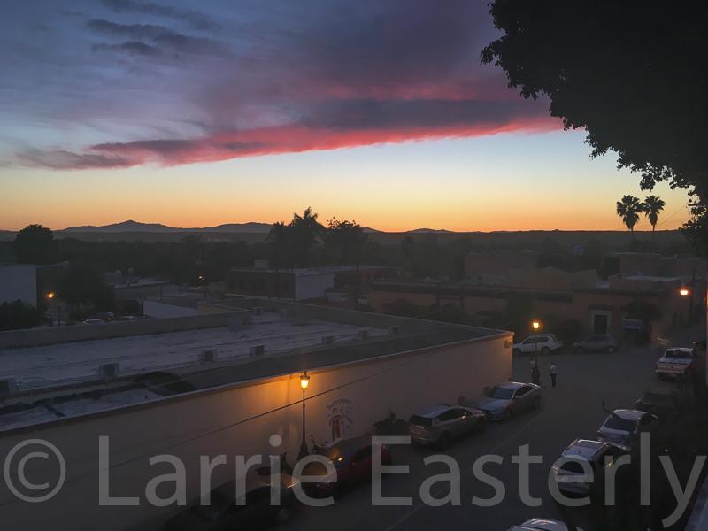 Sunset at El Fuerte