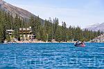 Moraine Lake and Lodge, Alberta