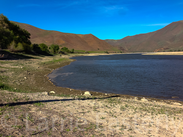 Brownlee Reservoir on the Snake River, Farewell Bend State Park, Huntington, OR