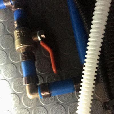 New H2O Valves