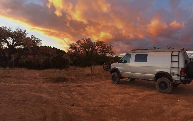 Mountain standard time sunset