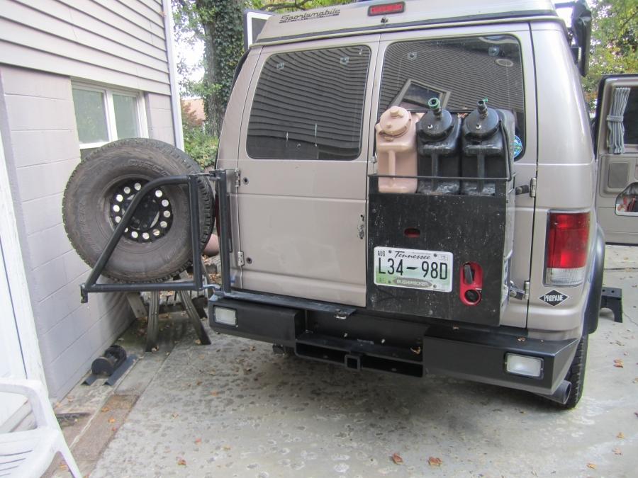 DIY Rear Storage Box See Video