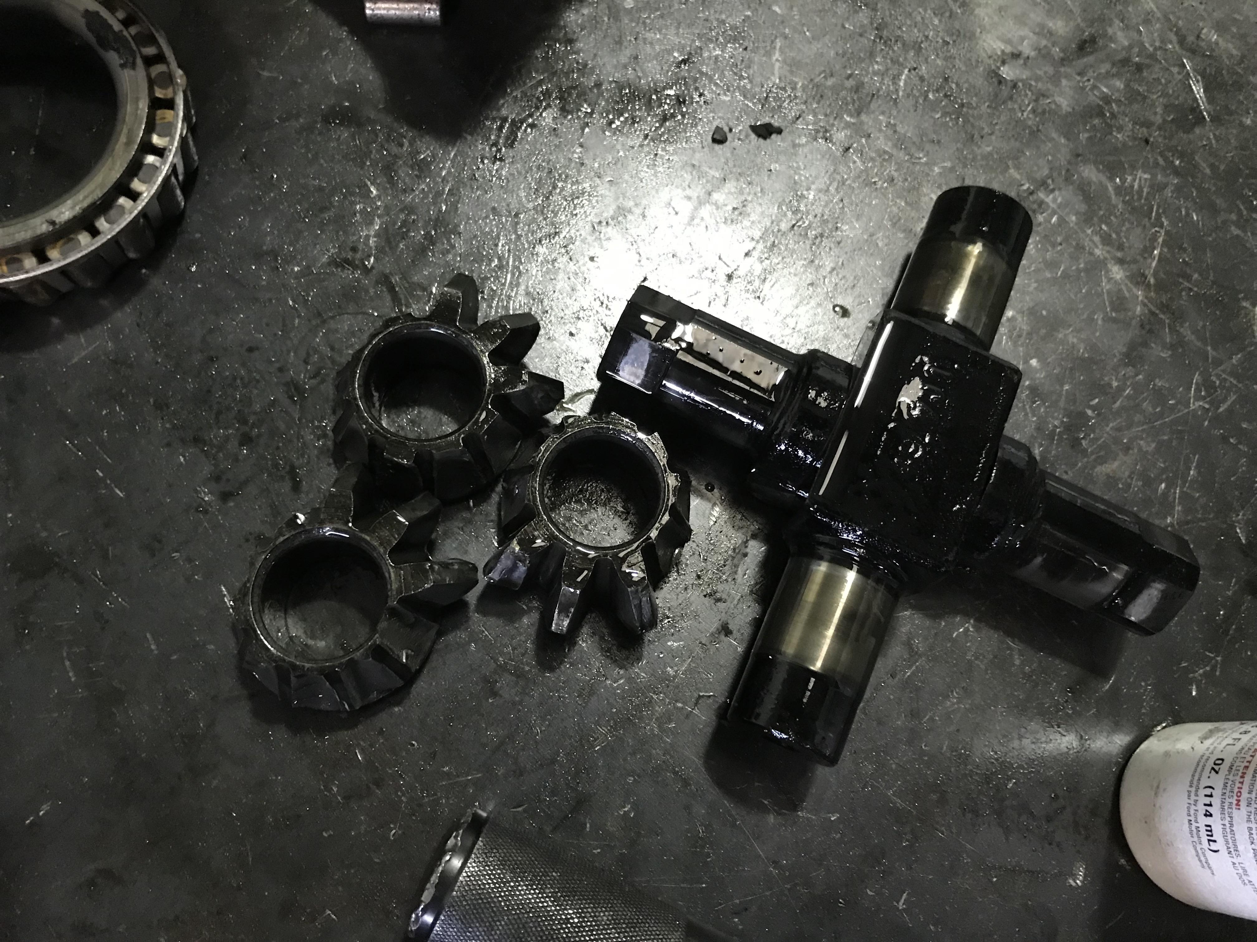 Spider gears