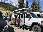 Adventure Van Expo Lake Tahoe with my son Carson