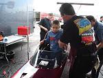 A fueler, Tom helping little Caden