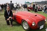 IMG 6228tom with 1949 Ferrari at Pebble Beach