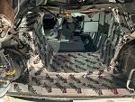 Engine tunnel sound deadening
