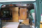 Another $20-$25 in birch plywood to make it match the rest of the van and I have a 3.2cf ~$150 refrig that functions just as good as the $500+ ones. ...