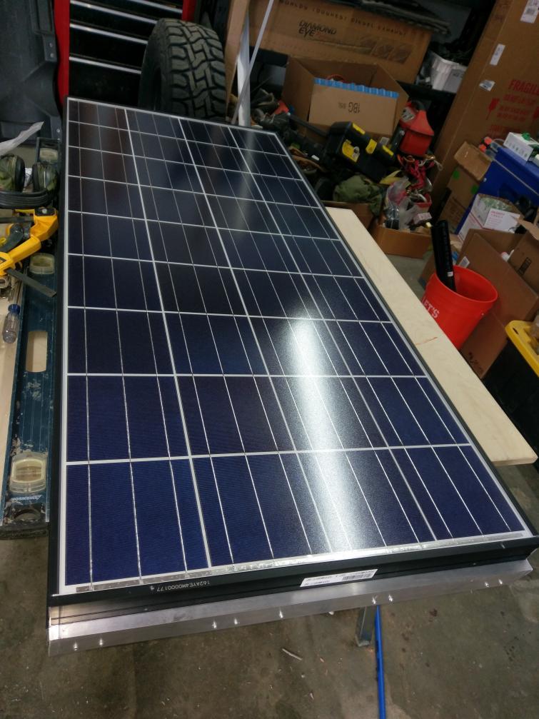 300watt Sliding Solar Install Space Saver Sportsmobile Forum