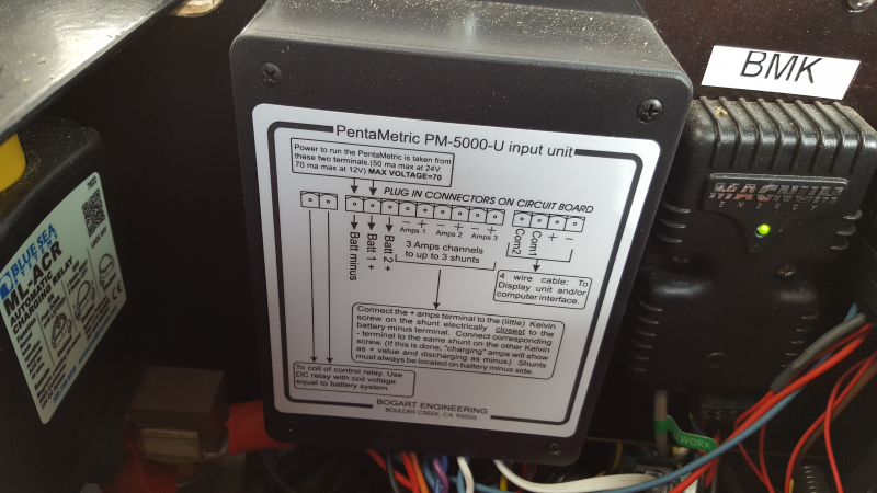 BOGART ENGINEERING PM-100-C PENTAMETRIC COMPUTER INTERFACE