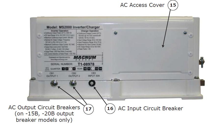 Magnum AC Input Reset