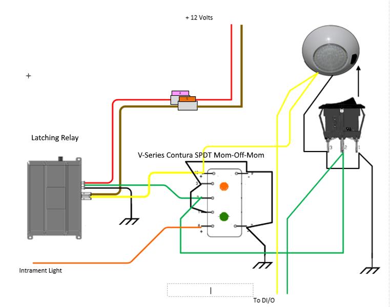 Overhead Light Diagram