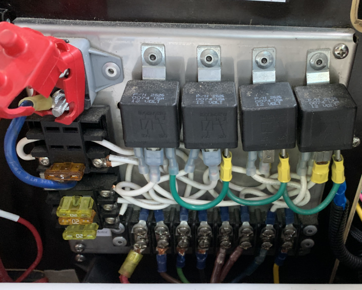 Starcool relay panel