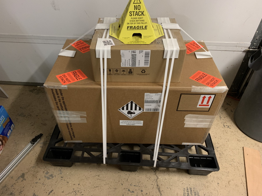Battery delivery