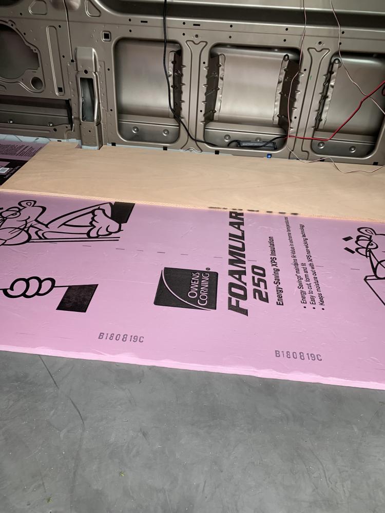 3 quarter inch foam board