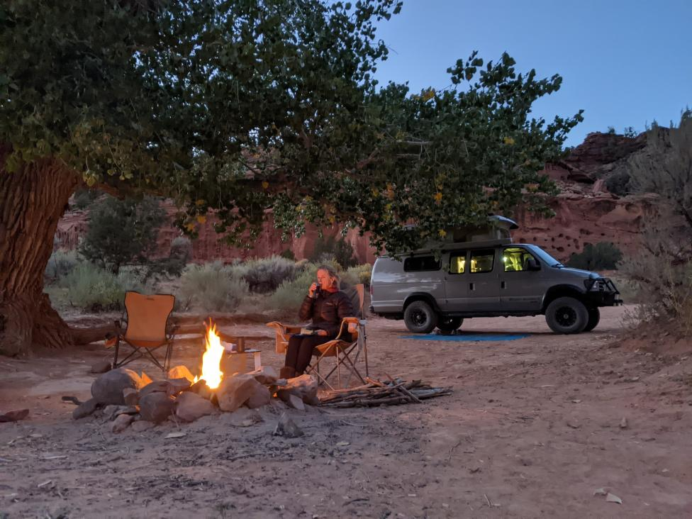 Burr Trail Camp 2