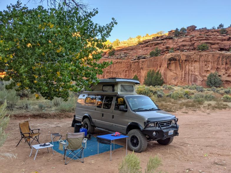 Burr Trail camp