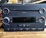 OEM radio; 2012 E350