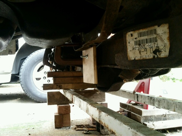 Dana 50 ttb conversion log  - Sportsmobile Forum