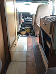 Removing carpet and original vinyl squares
