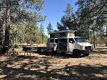 Camp spot for Overland Expo 2018