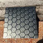 Floor Covering   Loncoin Rubberized Dark Grey 41F