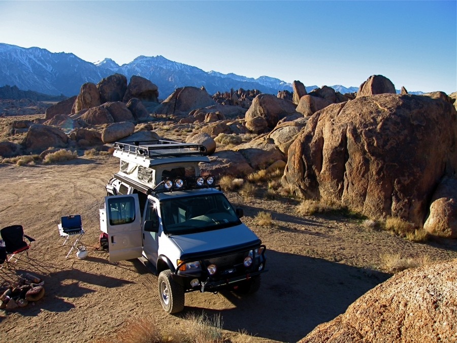 Greggd - Campsite in the Alabama Hills