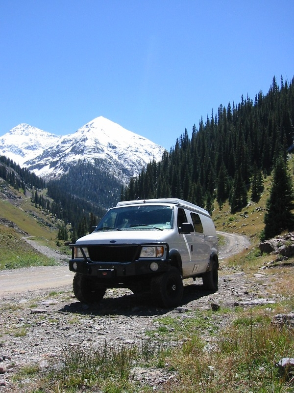 FunHog - On the way to Eng Pass CO