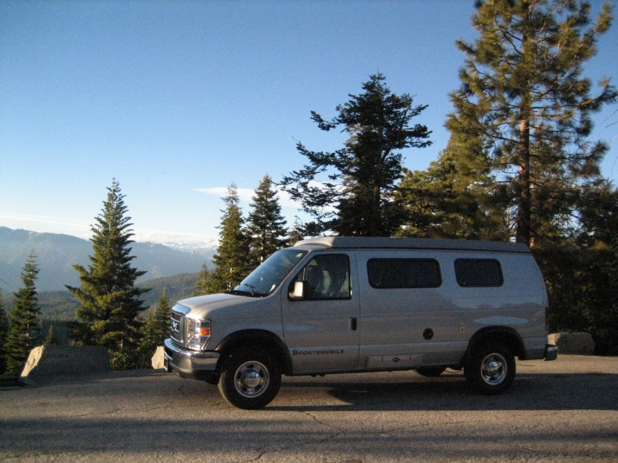 joey2cool - 2. Silver Bullet's maiden voyage (first stop) - Sequoia National Forest