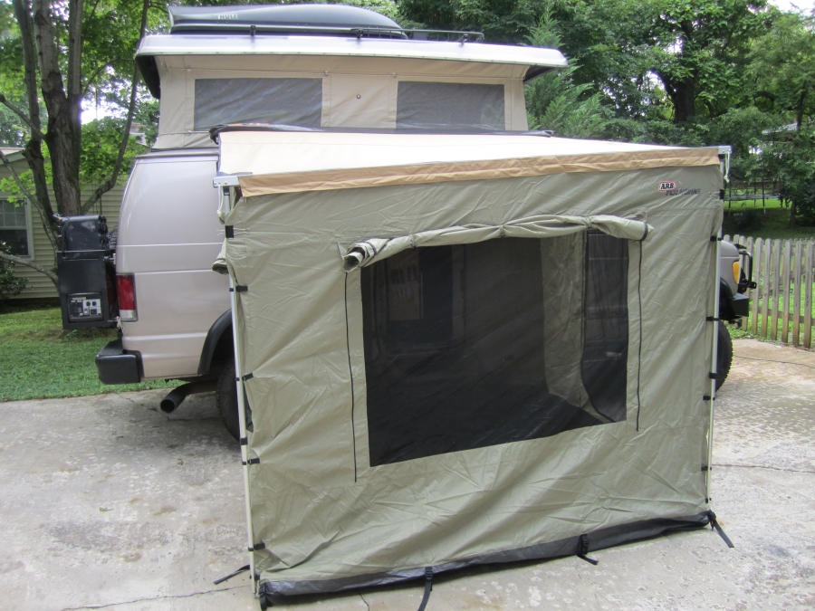 This image has been resized. Click this bar to view the full image. & Cascadia Vehicle Tents (CVT) awning - Page 2 - Sportsmobile Forum