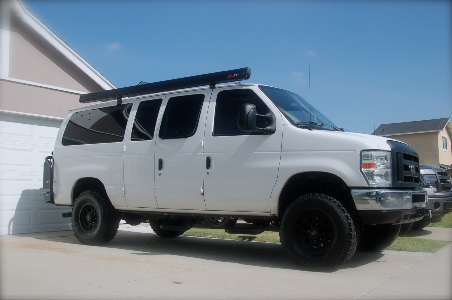 SOLD: 09 Ford E350 Camper w/ Camburg 2WD Lift SOLD ...