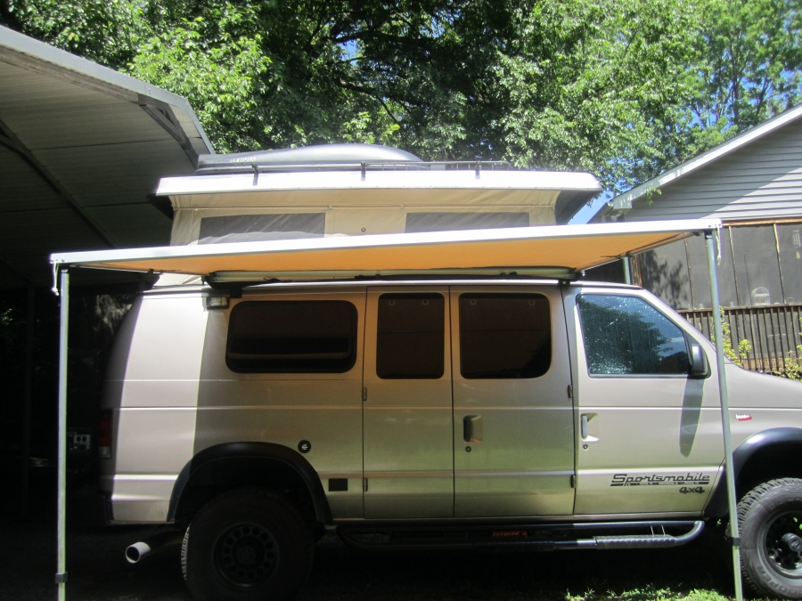 Cascadia Vehicle Tents Cvt Awning Sportsmobile Forum
