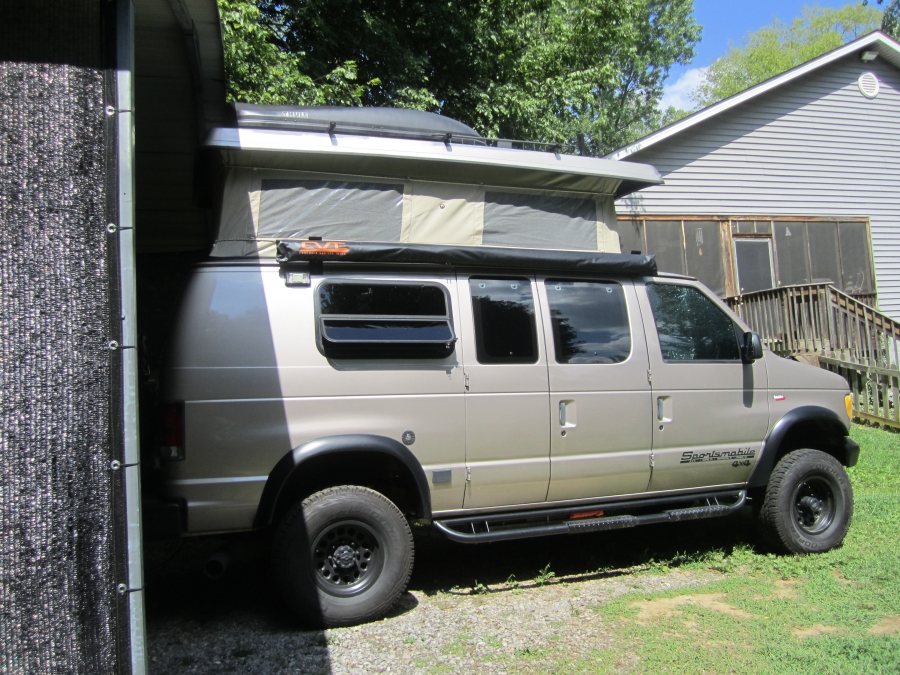 Deployed & Cascadia Vehicle Tents (CVT) awning - Sportsmobile Forum