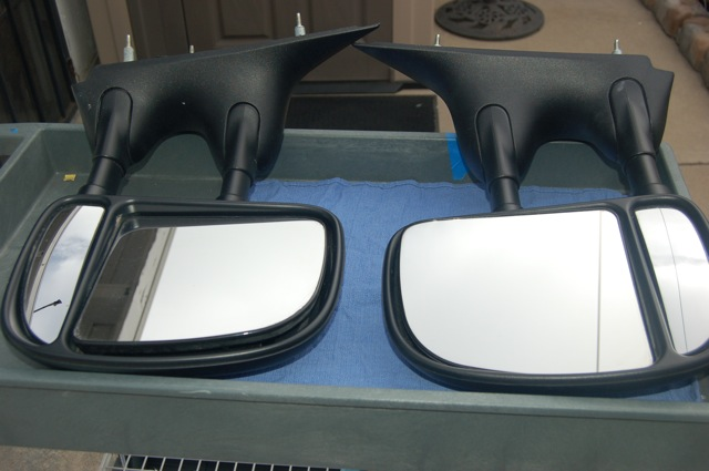 Ford E350 Towing Mirrors