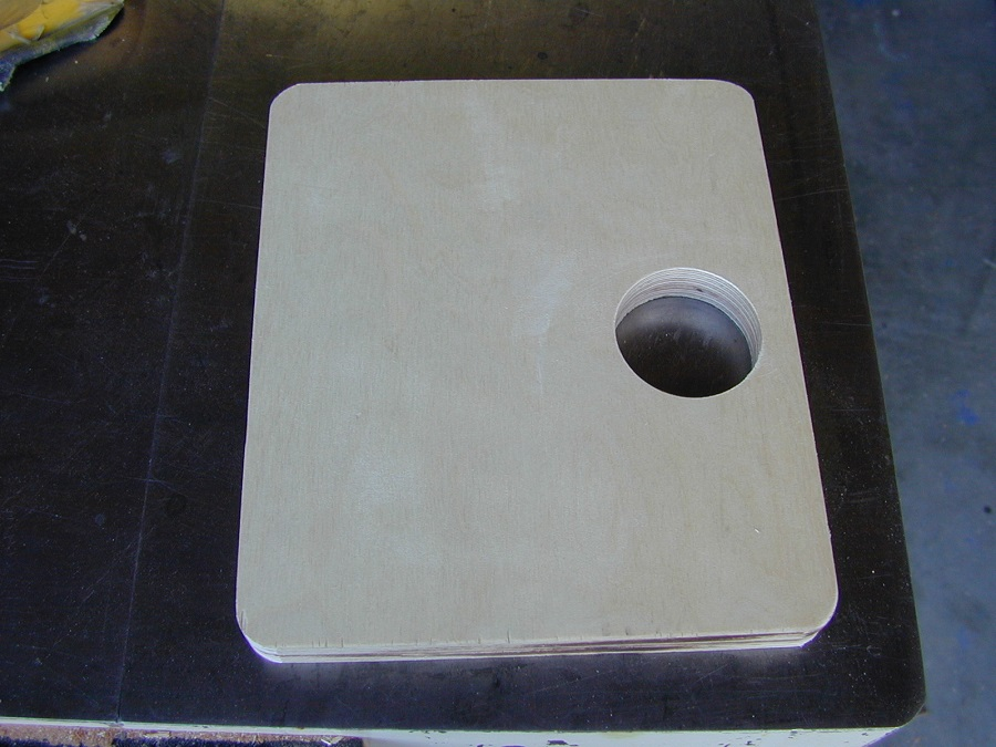 Laminate Back The Back of The Laminate