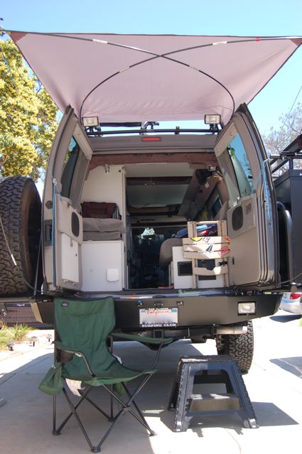 Sportsmobileforum.com • View topic - DIY Rear Awning
